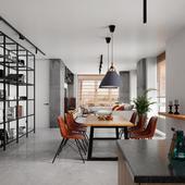 White interior design (сделано по референсу)