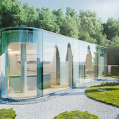 Lake Lugano House (сделано по уроку)