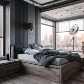 Спальня (сделано по референсу)