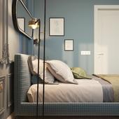 Эскизы Спальной комнаты