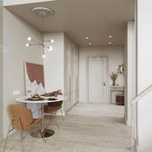 Визуализация двухуровневой квартиры