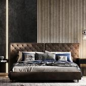 Визуализация спальни в 4 вариантах