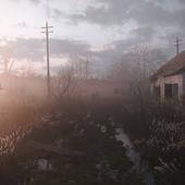 Morning in Chernobyl Zone