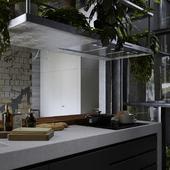 Black kitchen for NORR&VIEW studio