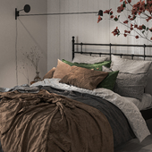 White Walls bedroom