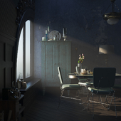 The Shape of Water. Interior visualization