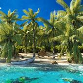 Карибский остров