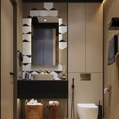 Эскизы Ванной комнаты