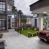Проект частного дома в г.Ташкент