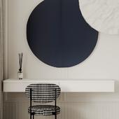 Bedroom design in Paris