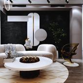 Geometric Space Guestroom