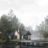CGI \ The lake house
