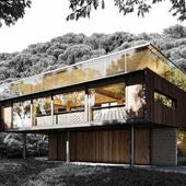 CGI KawaKawa House Herbst Architects (сделано по референсу)