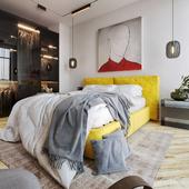 YELLOW breathe bedroom