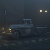 chevrolet 3100 truck 1956's