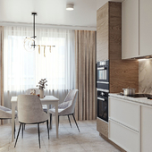 Кухня, современный стиль
