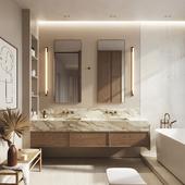 White pear apartment   Bathroom