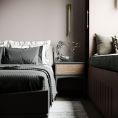Bedroom SM Render Studio