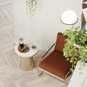 Дизайн концепт интерьера Elle Cafe