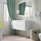 визуализация детской ванной комнаты