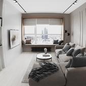 визуализация командировочной квартиры