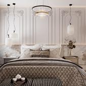 Визуализация спальни для BiG STUDIO 20m