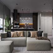 Проект квартиры в ЖК Конкордия