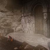 "Fan art 3d ""Halls of Astheimr"" (сделано по референсу)"