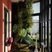Дизайн и визуализация балкона