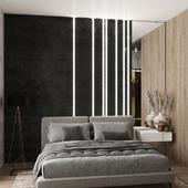 Дизайн интерьера мастер спальни