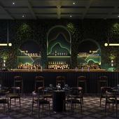Midnight green bar