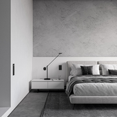 Monochrom Bedroom