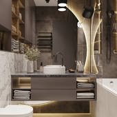 ALL IN STONE | BATHROOM
