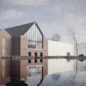 Mons Memorial Museum (сделано по референсу)
