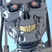 Terminator t-800 3D model V2