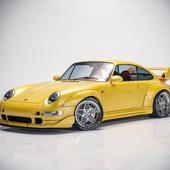 Porsche 911 GT2 993 \\\3д Рендер