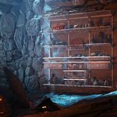 Пещера с удобствами