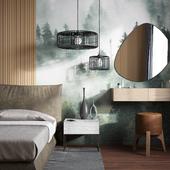 Интерьер Спальни в Хабаровской квартире