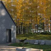 MAPLE TREE HOUSE (сделано по референсу)