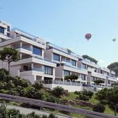 Террасные дома на черноморском побережье