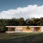 Визуализация загородного дома