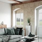 Modern Living Room in Denmark(сделано по референсу)