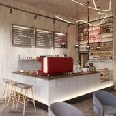 Визуализация кафе в МО