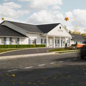 Визуализация дома престарелых  Neptune Gardens for Nursing and Rehabilitation