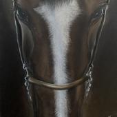 Картина «Удача» Пастель 40х30 см