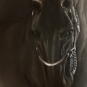 Картина «Нежность» Пастель 40х30 см