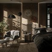 Small bedroom(Сделано по референсу)