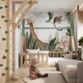 Stylish children's room