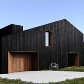 Загородный дом (сделано по референсу)