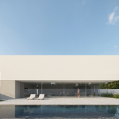 House of the Silence / Fran Silvestre Arquitectos (сделано по референсу)